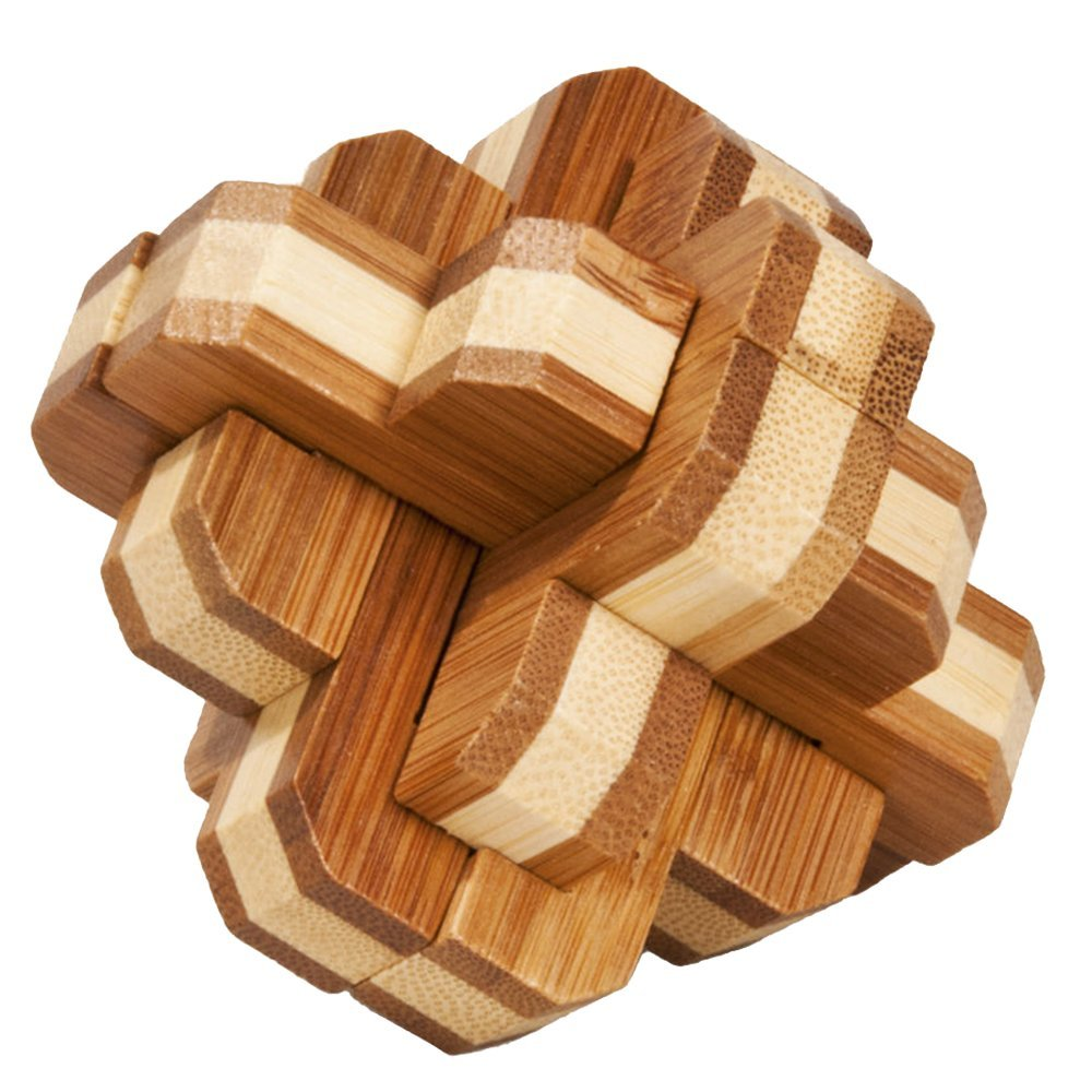 bambooler round puzzle for adult play