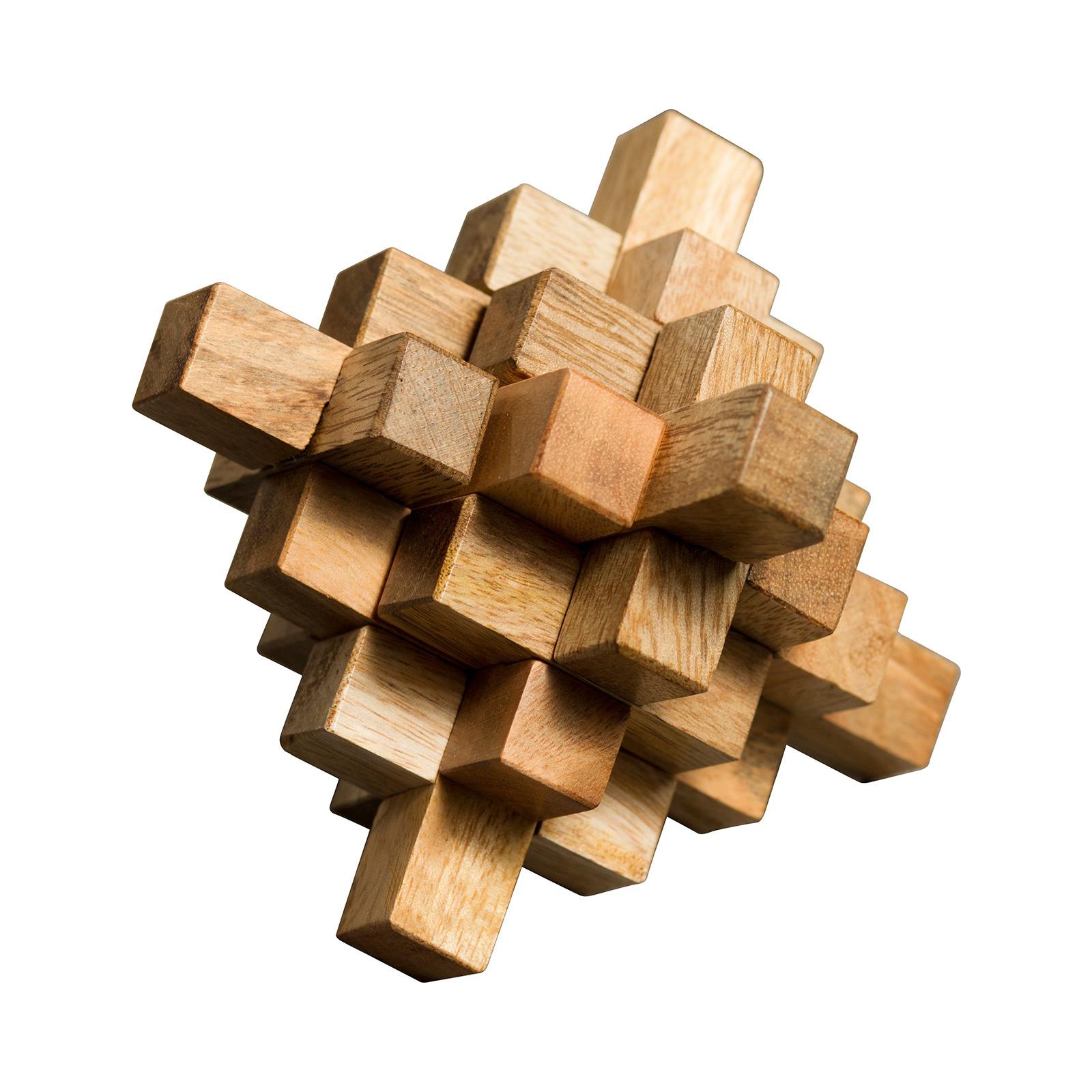 Wood Geometric Puzzle