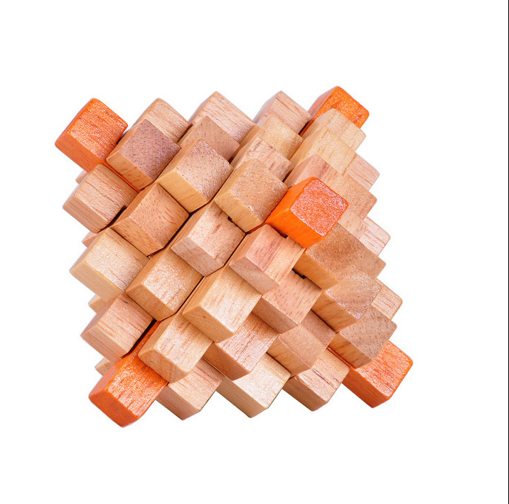 Big Wooden Burr Puzzle