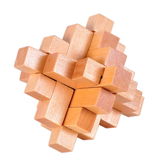 Wooden Crystal Puzzle solution