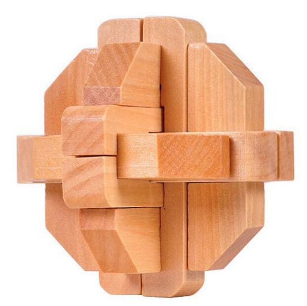 12 pieces wooden Puzzle
