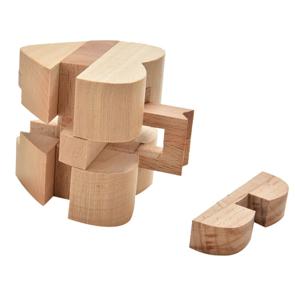 Heart Puzzle- Wooden Interlocking Puzzle