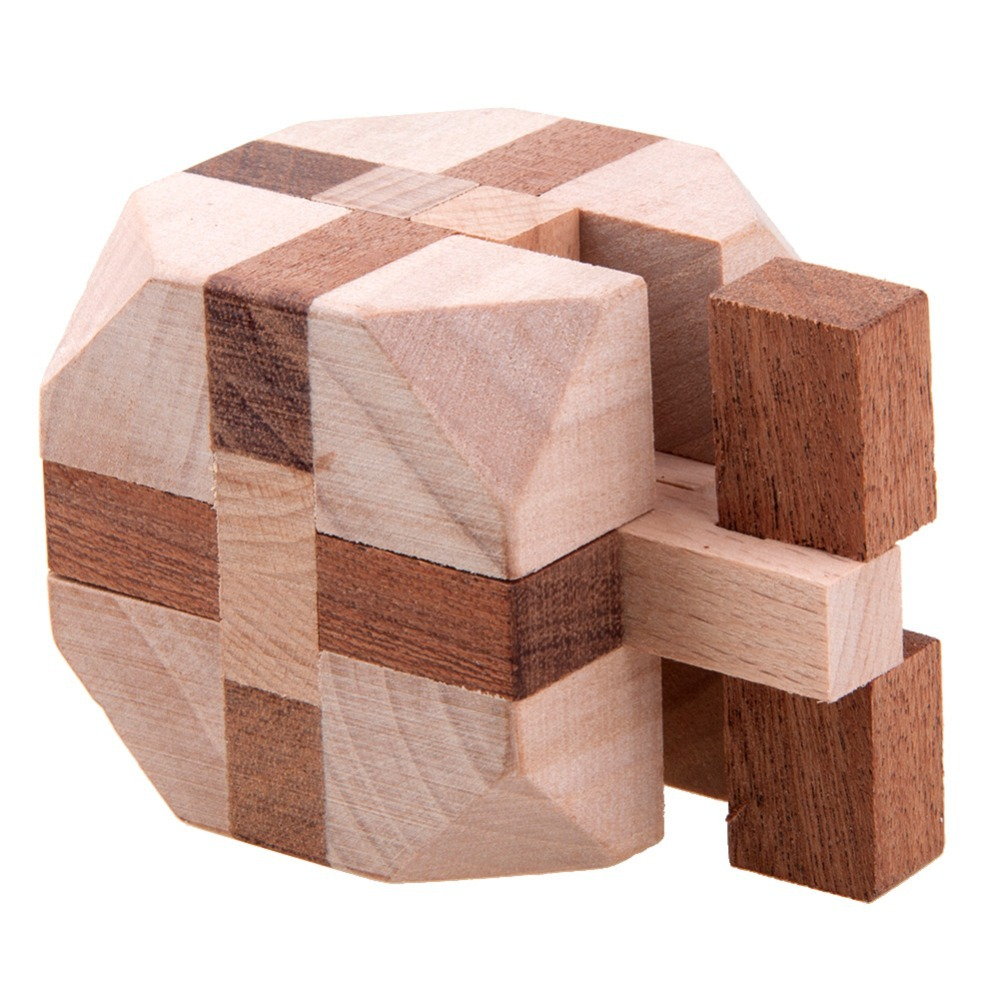 wooden chunky diamond puzzle solution