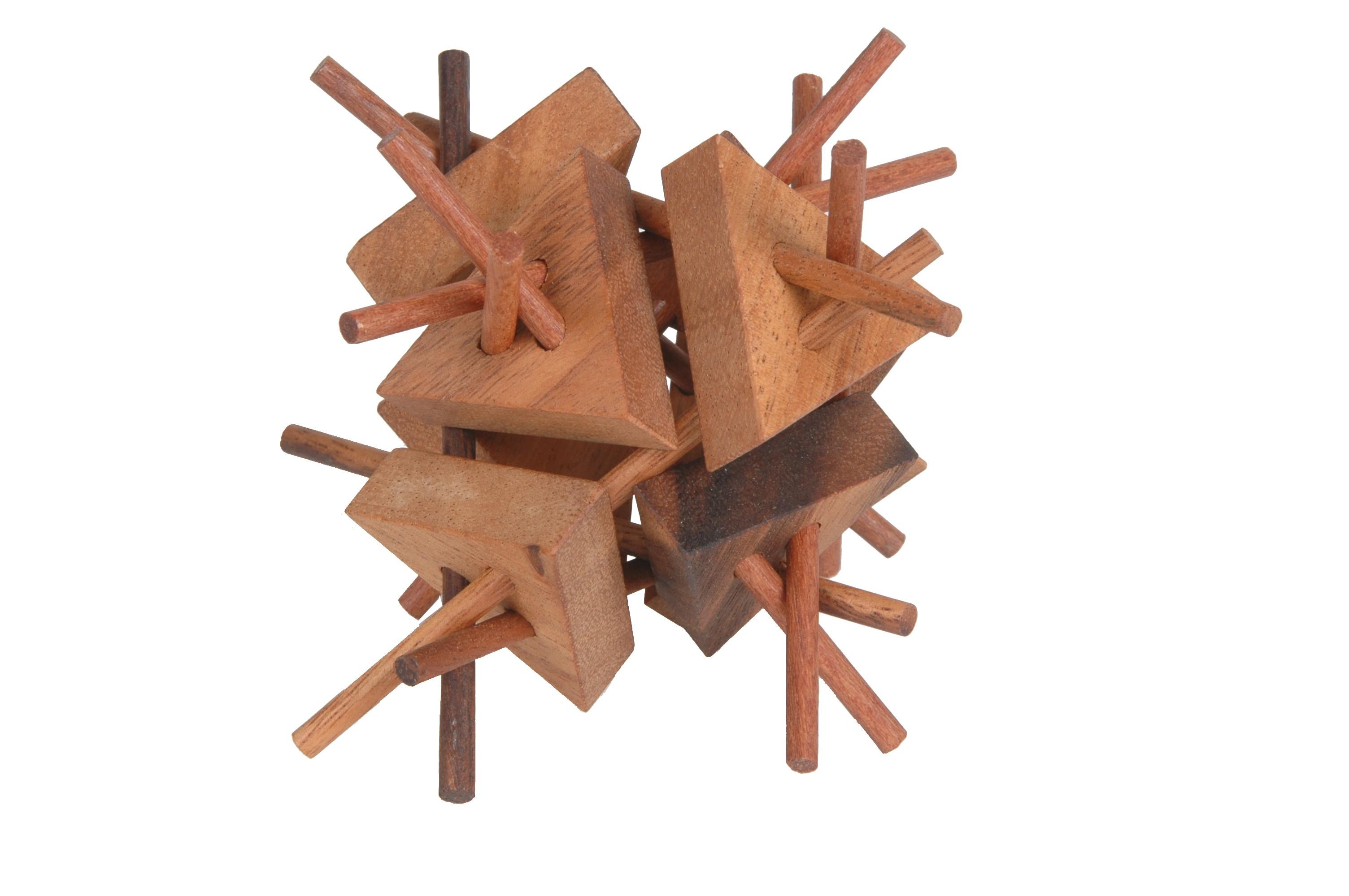wooden porcupine Puzzle