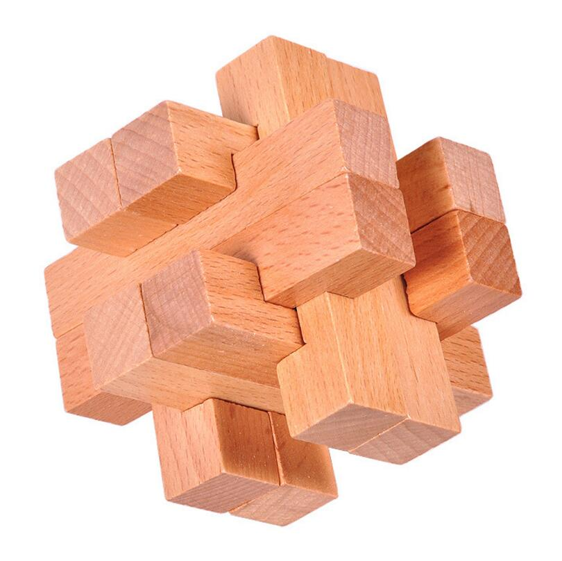 Natural beech wood Puzzle