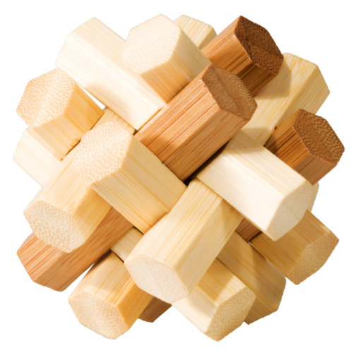 Bamboozler double knot burr puzzle