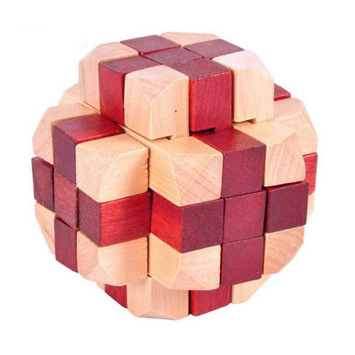 Promotion classic wooden cube toy