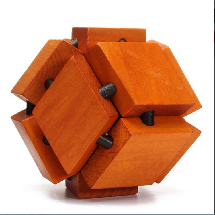 China Traditional Wooden Puzzle