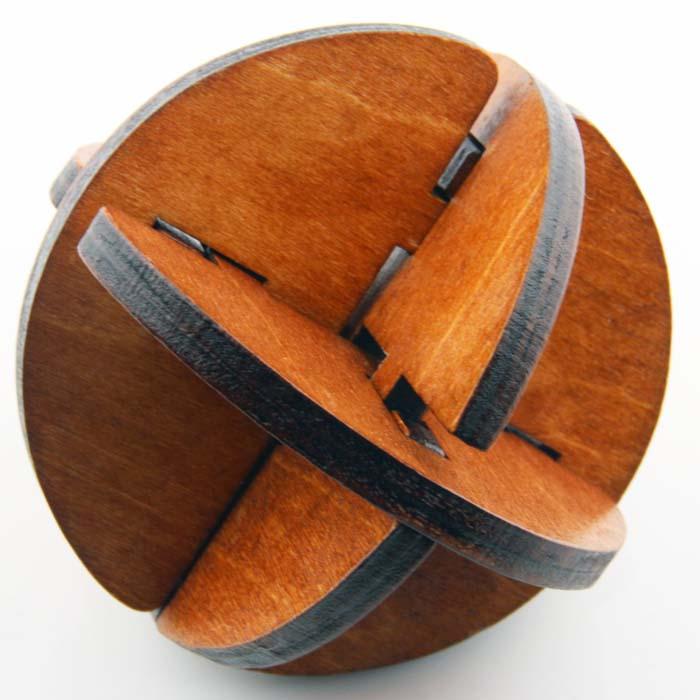 Wooden Blades Lock
