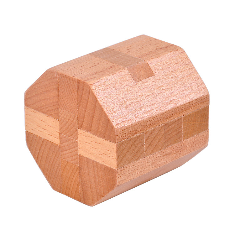 Wooden Octahedral Puzzle