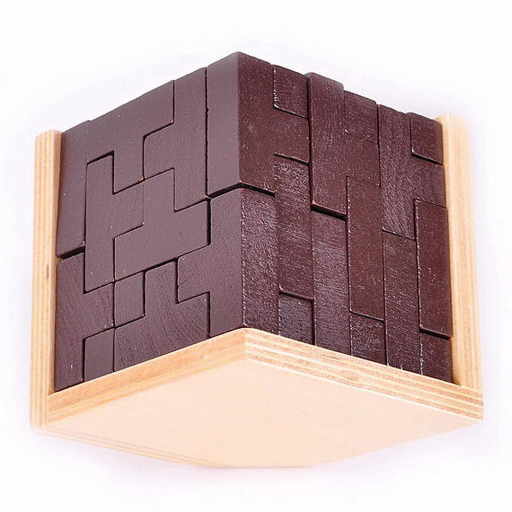 54pcs T blocks cube puzzle