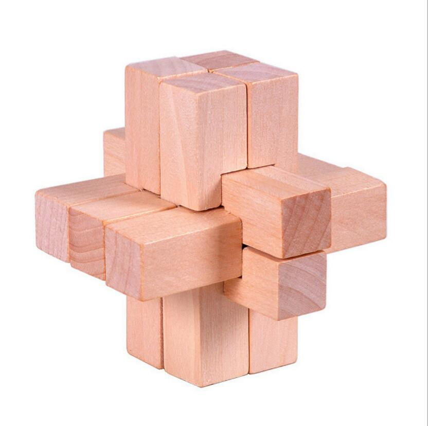 wooden mini new style puzzle