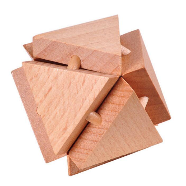 Wooden Mini Puzzle for education