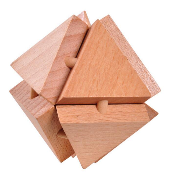 Wooden geometry Puzzle