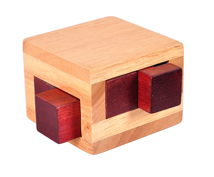 Coffee Table and Office Gadgets wooden Tricky Drawers box puzzle for funny