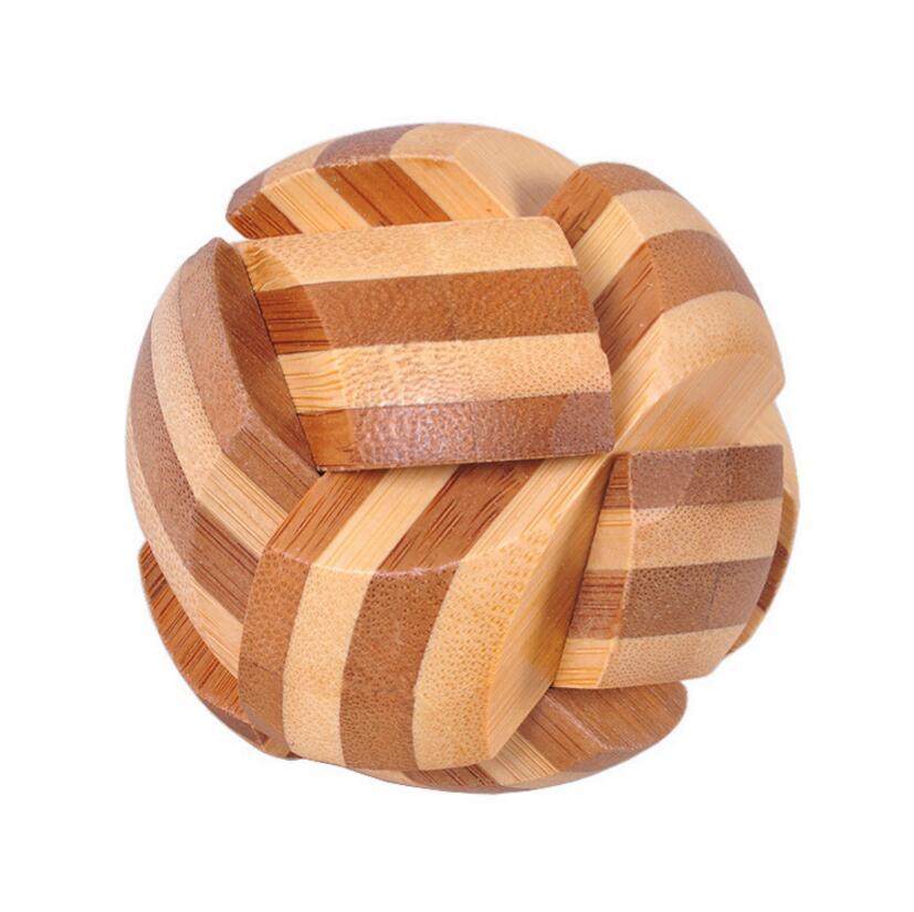 small mini wooden Soccer Block puzzle