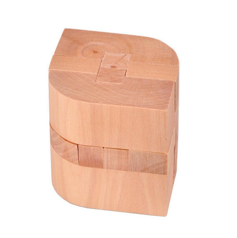 Natural Wooden Puzzle Gift for Children