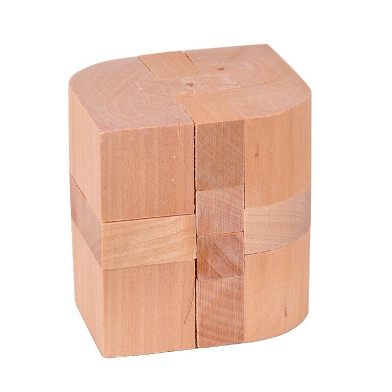 Chinese traditional wooden IQ test brain teaser Puzzle