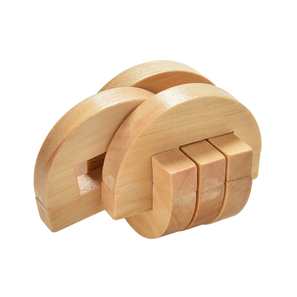 Wooden Luban and Kongmin Puzzle