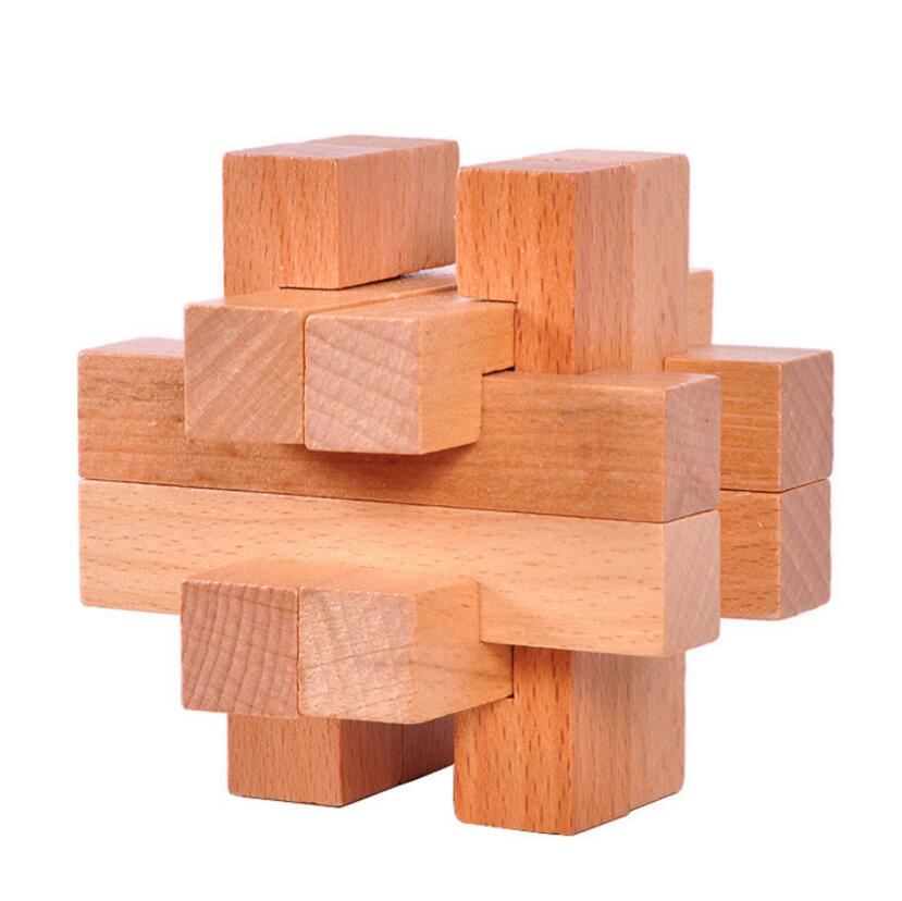 Wooden marble puzzle from China