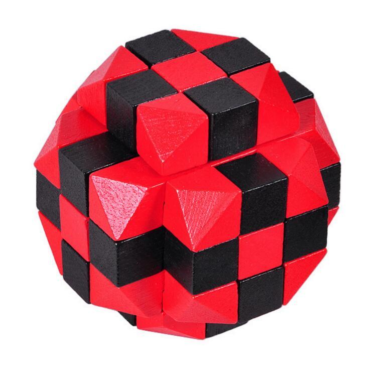 Wooden Cubix puzzle