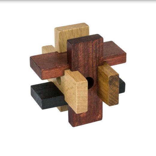 Mini Wooden cage Puzzle