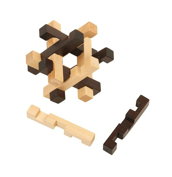 wooden coffee table puzzle solution