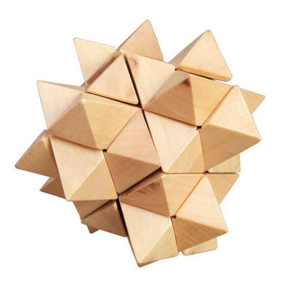 wooden interlocking fruit puzzle
