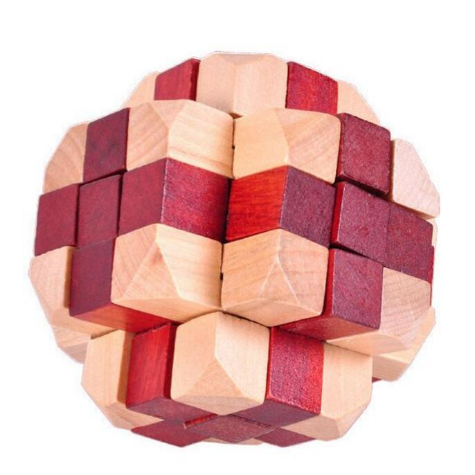 Brain Teaser Giant Asteroid Cube Puzzle