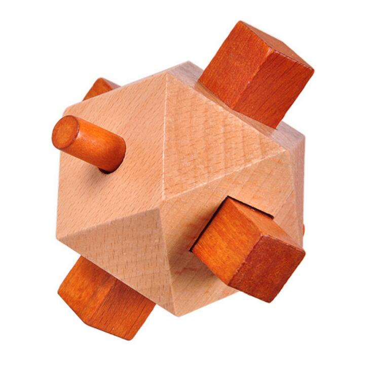 Wooden Gyro Puzzle