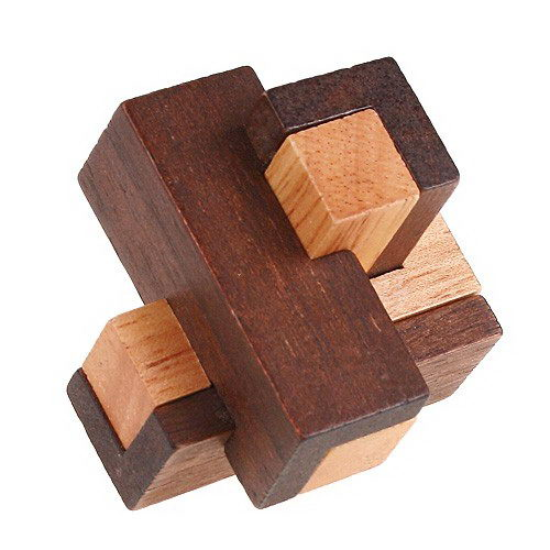 Mini Wooden puzzle Gift for promotion