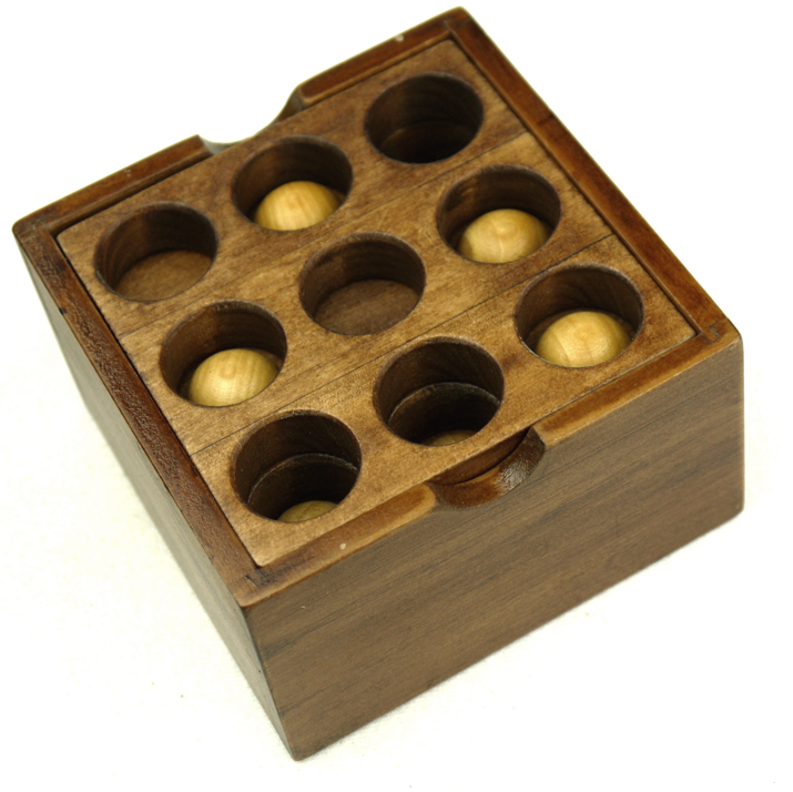 wooden coffee and desk play game