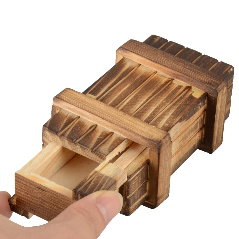 wooden wealth box