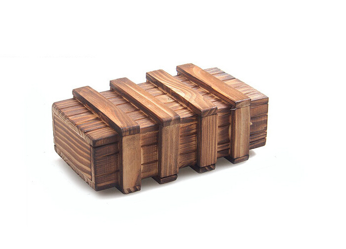wooden tricky puzzle