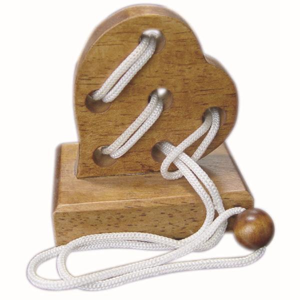 Wooden Lover Heart Gift