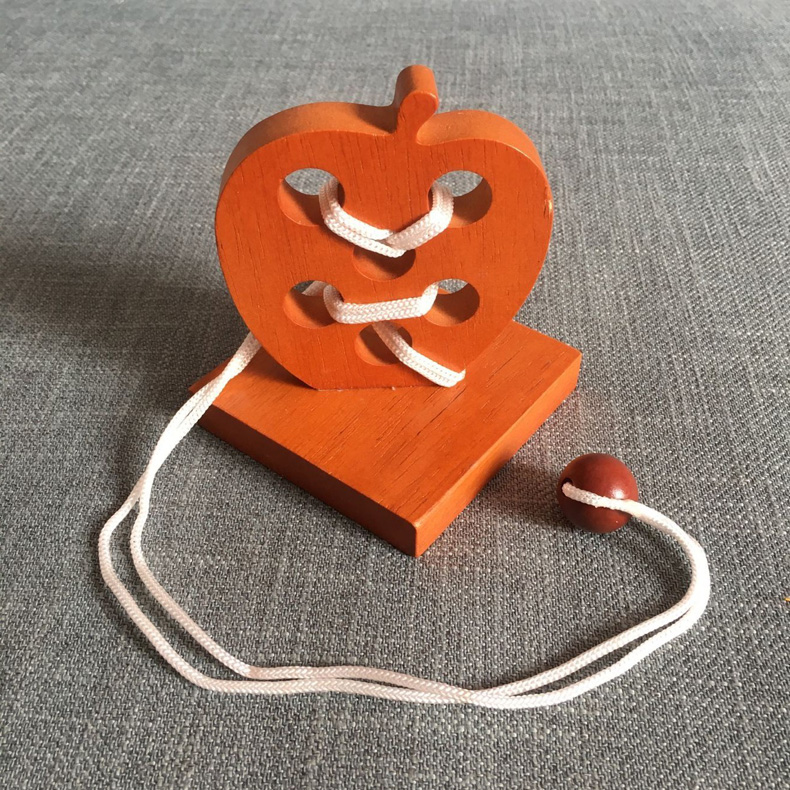 wooden iq puzzle