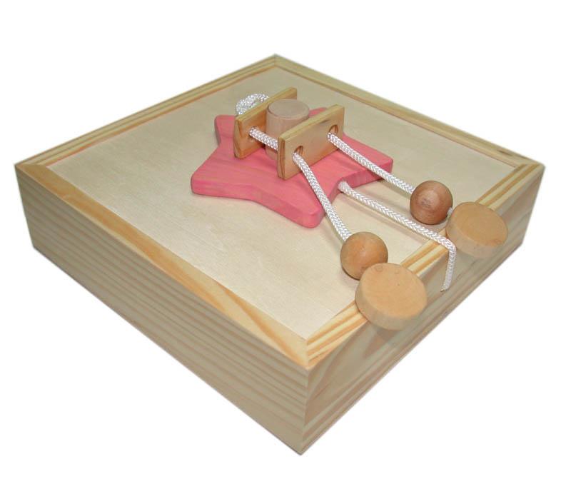 wooden secret box