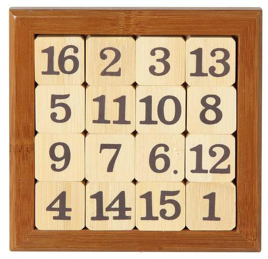 bamboo number sliding puzzle
