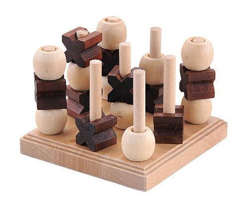 wooden OX strategy game