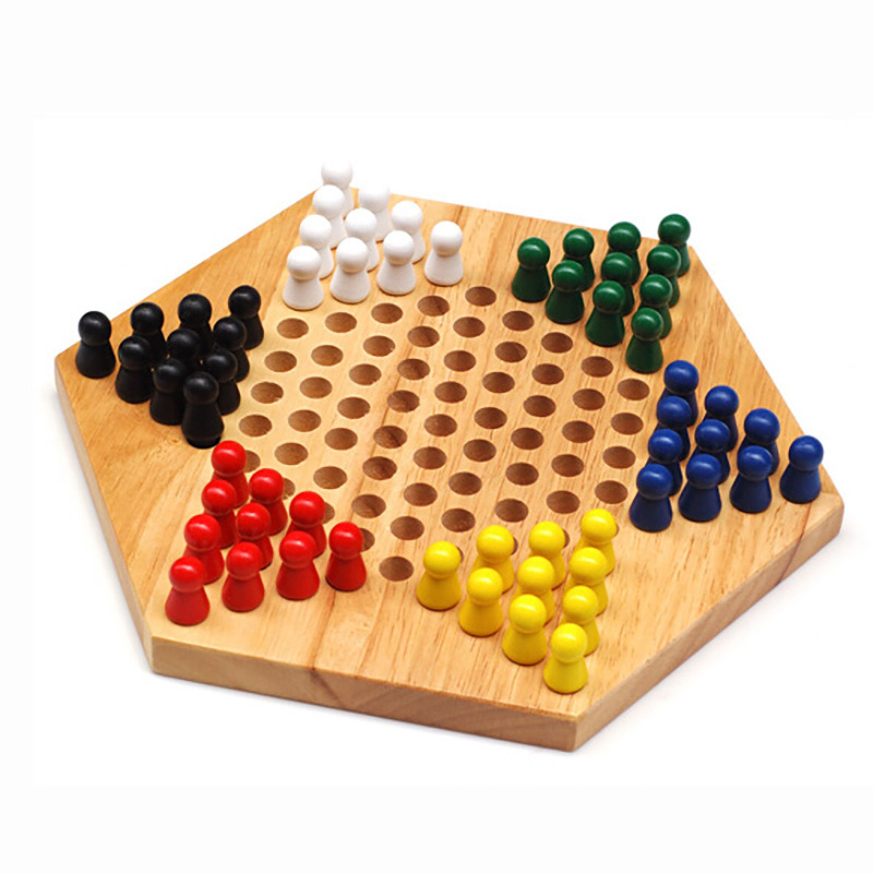 Wooden classical board game