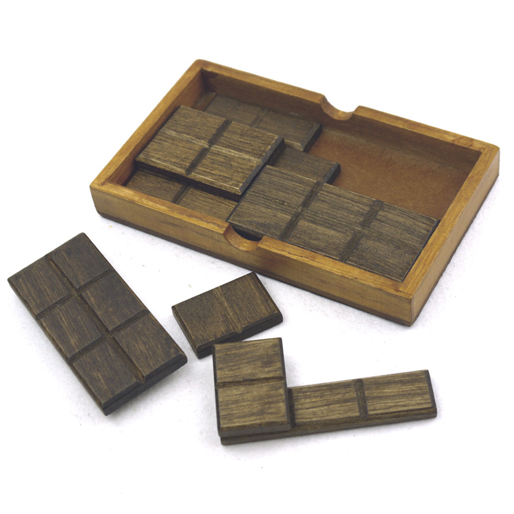 wooden Chocolate Puzzle for kids