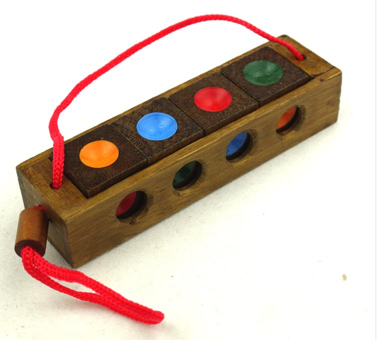 wooden color match puzzle