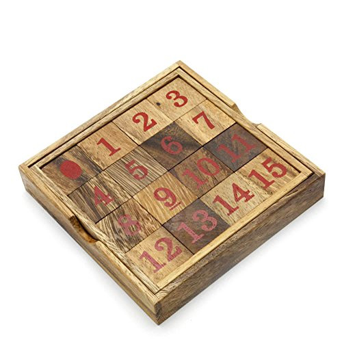 Number 15 Sliding puzzle