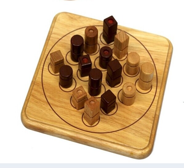 wooden board family game