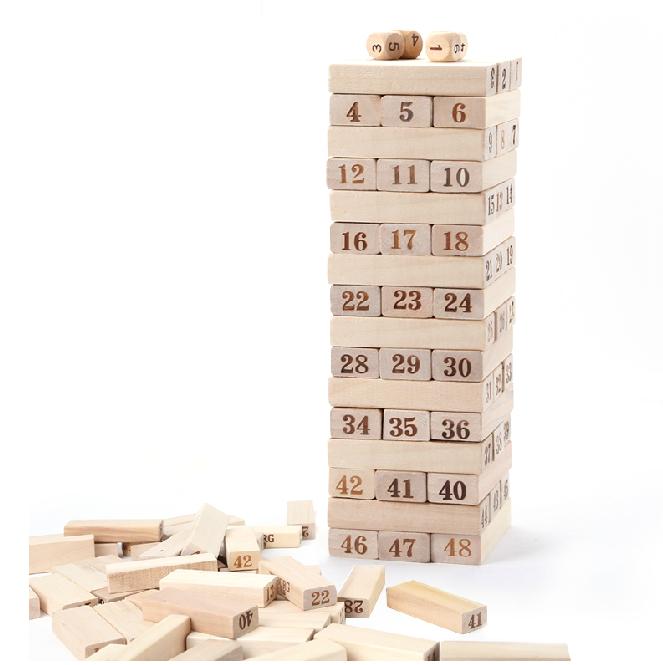 wooden timber blocks game