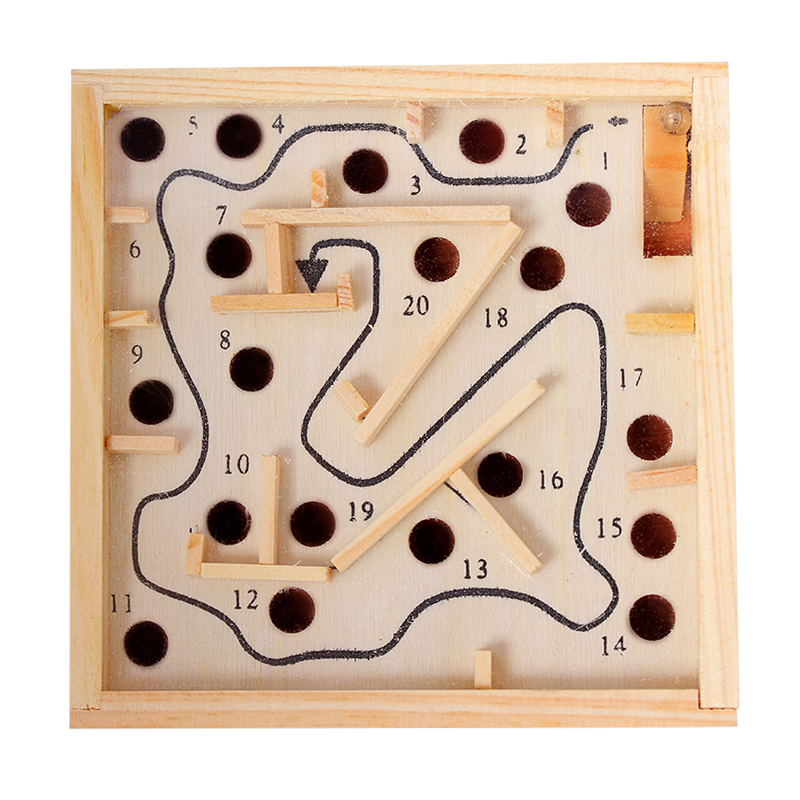 Wooden Promotional Maze toy