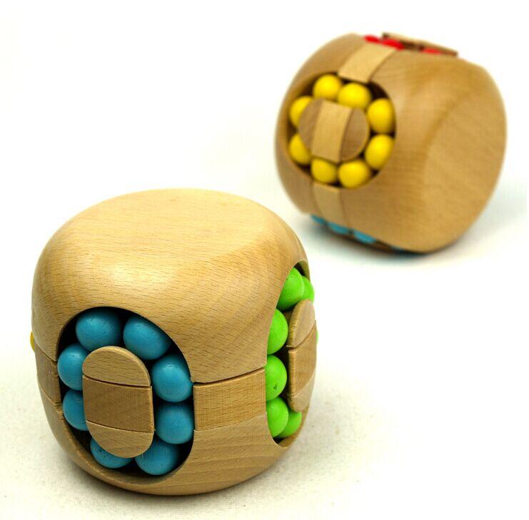 Wooden Hamburger Puzzle