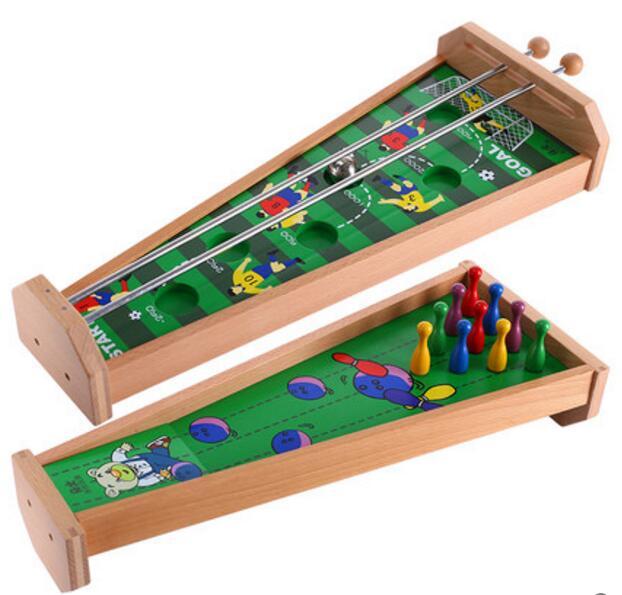 wooden children control game