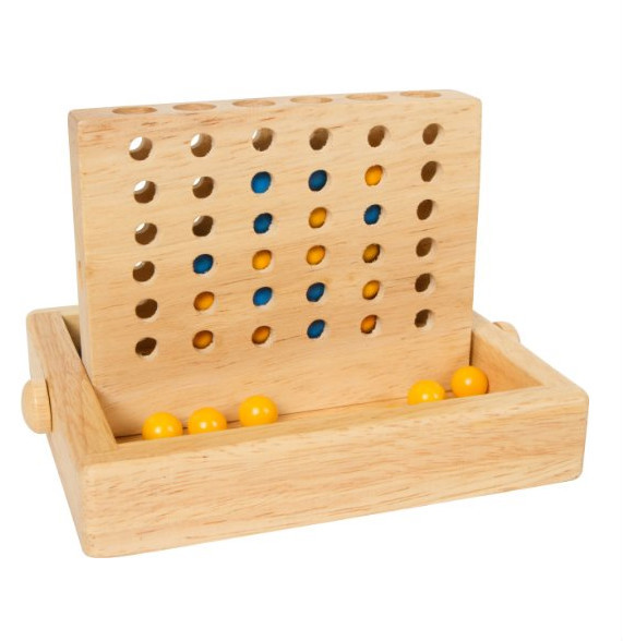 wooden strategy game