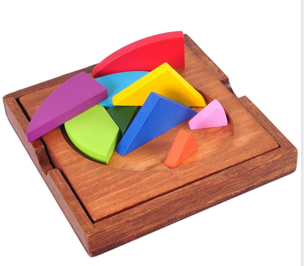wooden brain teaser puzzle